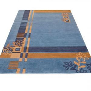 Covor Theko Exclusiv, albastru, 60 x 90 cm