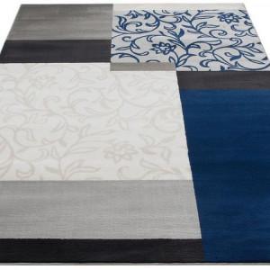 Covor Trine by My Home, albastru/gri, 120 x 180 cm