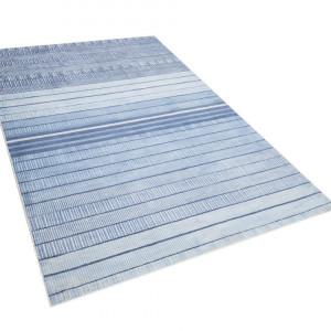 Covor Yardere, albastru/alb, 140 x 200 cm