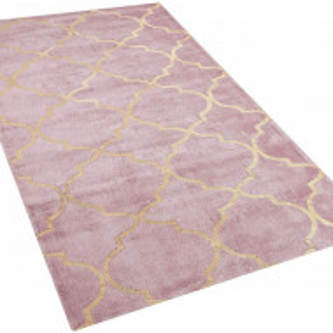 Covor Yelki, roz/auriu, 80 x 150 cm