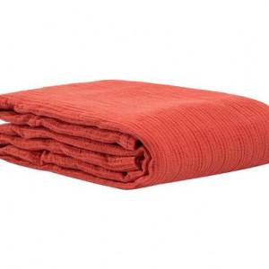 Cuvertura de pat Cannette, rosu, 260x260 cm by Mastro Raphael