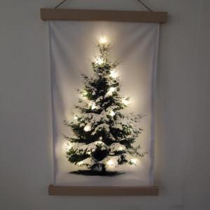 Decor de perete LED X-Mas, 120 x 75 cm