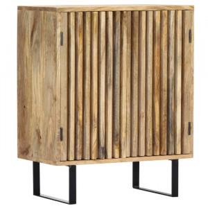 Dulap Roca, lemn masiv, maro, 75 x 60 x 35 cm