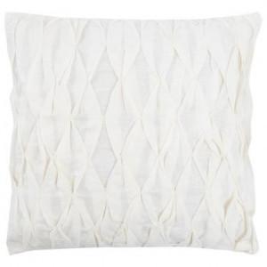 Față de pernă Fagure alb, 42x42 cm