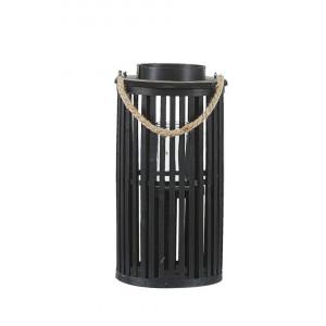 Felinar decorativ salcie LUZON 40 cm negru