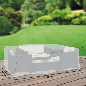 Husa de poliester Premium pentru set de mobilier de gradina (230 x 165 cm)