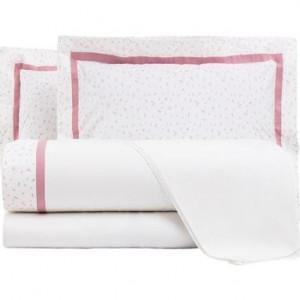 Lenjerie de pat completa Diana rosa, matrimoniala