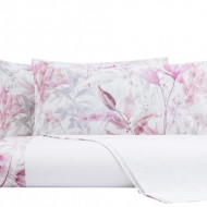 Lenjerie in stil italian Dipinto rosa, matrimoniala