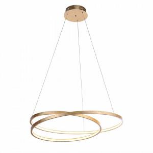 Lustra tip pendul LED Roman Circle otel, diametru 72 cm, 1 bec, 230 V, 44 W