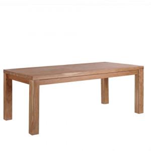 Masa TESA, lemn, maro, 78 x 90 x 180 cm