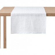 Napron din in our, gri perlat, 45x140 cm