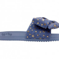 Papuci Pool Bow denim, 38