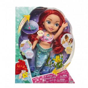 """Papusa Ariel Disney """"Canta si straluceste"""", 35 cm, multicolora"""