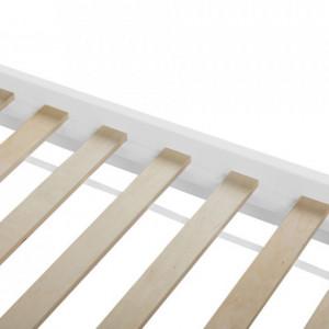 Pat Giulia din lemn alb, 180 x 200cm