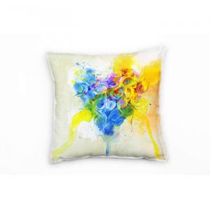 Perna decorativa, multicolora, 40 x 40 x 20 cm