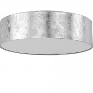 Plafoniera Rena, argintie, 12 x 45 x 45 cm