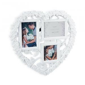 Rama foto in forma de inima, 38 x 41,5 x 2 cm