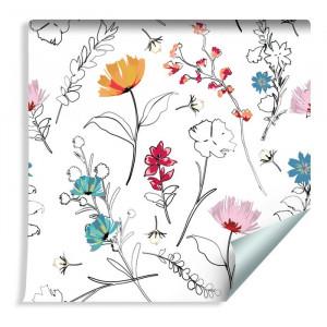 Rola tapet Agel, multicolor, 1000 x 53 cm