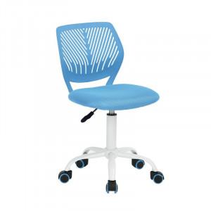 Scaun de birou ergonomic Valerii, albastru, 50,5 x 50,5 x 87 cm