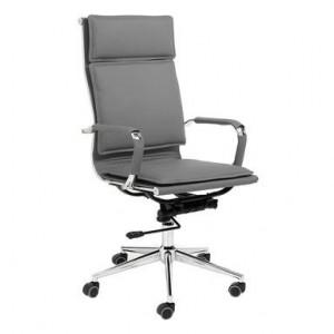 Scaun de birou Premier, pivotant, reglabil pe inaltime, gri, 120 x 57 x 66 cm