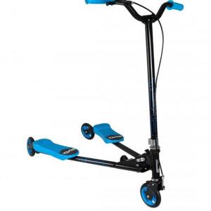 Scooter Evo+ V-Flex, albastru, 7 ani+
