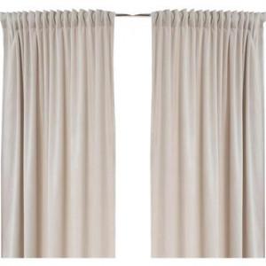 Set de 2 draperii Savannah bej, 140x220cm