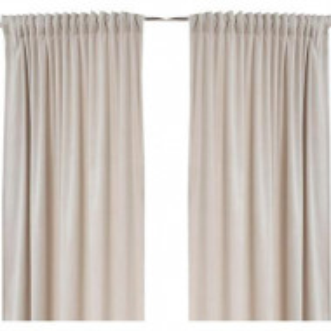 Set de 2 draperii Savannah bej, 140x300 cm