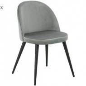 Set de 2 scaune Amy gri