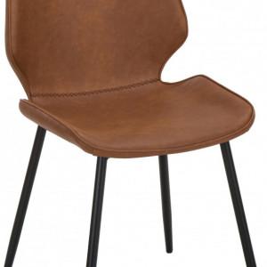 Set de 2 scaune Louis, tapitate, 44 x 82 x 58 cm