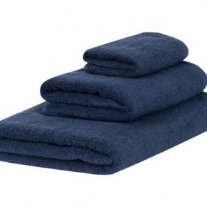 Set de 3 prosoape Comfort albastru