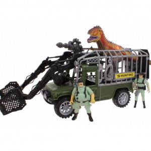 Set de jucarii Karll Dinozaurul si Vanatorii