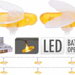 Sirag de 10 lumini LED Karll libelule