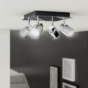 Spotlight Laurel, 4 lumini LED, 13 x 24 x 24 cm