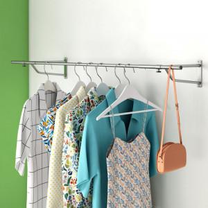 Suport pentru haine, metal, 120 cm