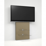 Suport TV Toccoa, taupe, 60 x 140 x 10 cm