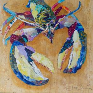 "Tablou ""Homar tropical"", multicolor, 45 x 45 cm"