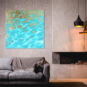 Tablou Oliver Gal 'Pristine Waters, 50,8 cm H x 50,8 cm W x 3,8 cm D