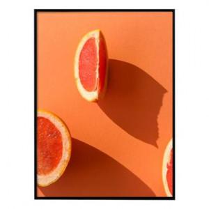 Tablou Red Oranges, 30x40 cm