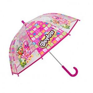 Umbrela de Fete Shopkins, Roz si Mov
