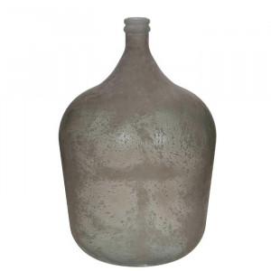 Vaza Meena, sticla, gri, 56 x 40 x 40 cm