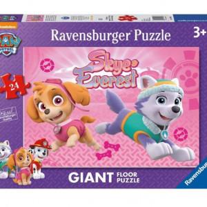 Puzzle Ravensburger cu Paw Patrol 24 Piese