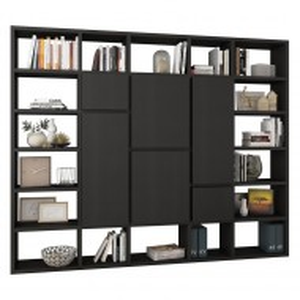 Biblioteca Emporior VI, negru