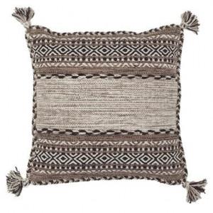 Perna decorativa Native, maro