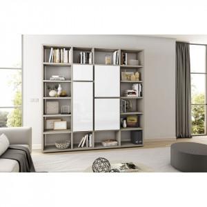 Biblioteca Emporior VI, Pal,negru/alb