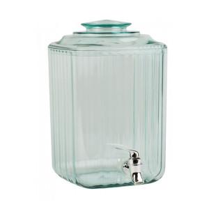 Borcan din sticla acrilica 7.5 litri cu robinet transparent