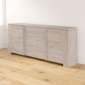 Buffet Katheryn, lemn, 87,3 x 204,7 x 42 cm