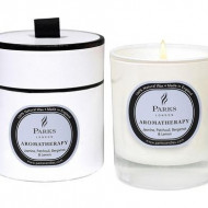 Candela parfumata Aromatherapy Gelsomino/Patchouli