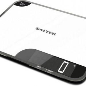 Cantar de bucatarie Salter 1079 WHDR, alb/negru, 37 x 28 x 4 cm
