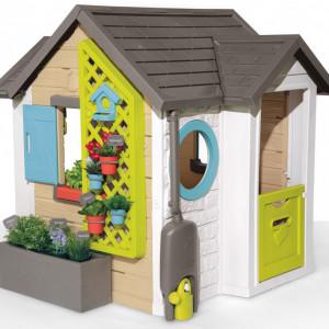 Casa de joaca pentru copii Smoby, multicolor, 129 x 132 x 135 cm