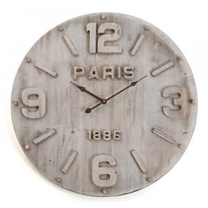 Ceas de perete Corbridge XXL, gri, 60 x 60 x 4,5 cm